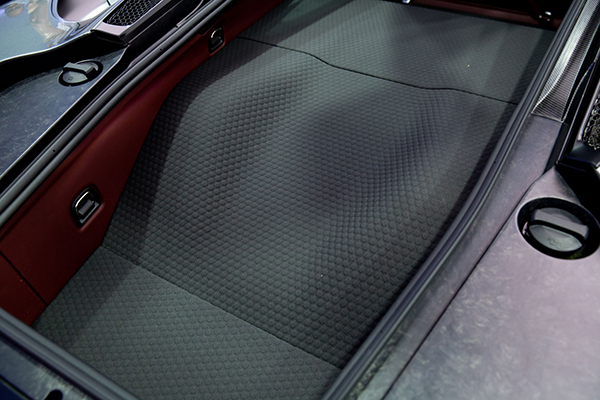 Small 12040 McLaren GT SuperFabric applied in luggage bay