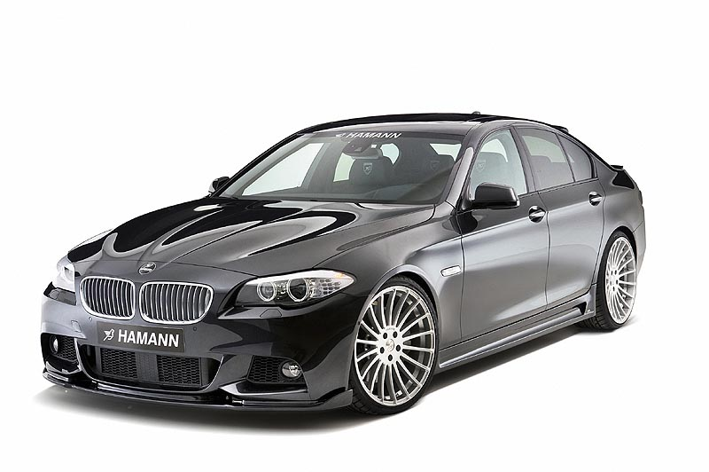 fast l 39 automobile et sa personnalisation on line hamann presente la bmw s rie 5. Black Bedroom Furniture Sets. Home Design Ideas